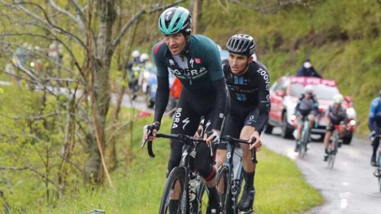 Tour d'Italie - Emanuel Buchmann : «J'ai essayé de limiter au maximum»