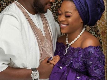 Billionaire Bola Shagaya's son, Kabir and wife celebrate 2-years of marital bliss