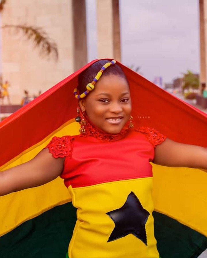 60f83aeec6fd433683a8143d64369105?quality=uhq&resize=720 - Independent Day: Talented Kidz's Nakeeyat Celebrates Ghana's Independence Day In Grand Style