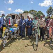 DP Ruto's Wife Empowers Lukuyani Residents With Bicycles (PHOTOS)