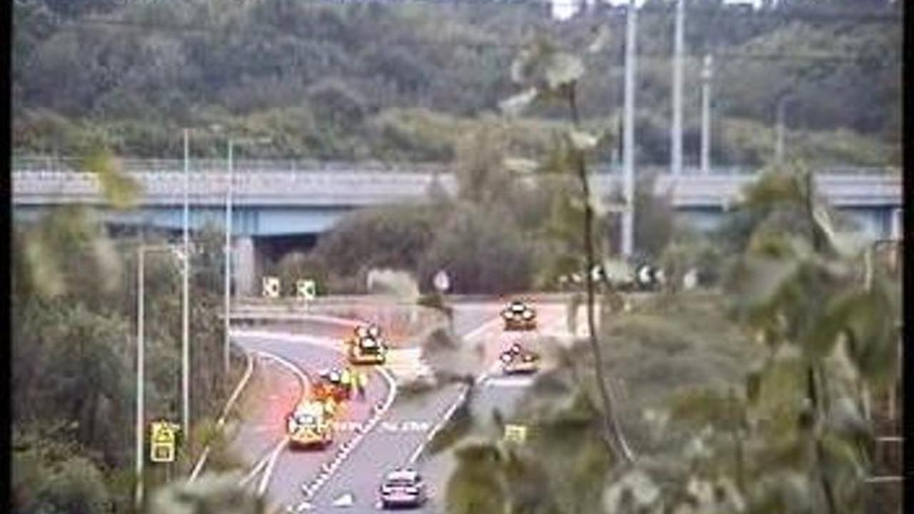 M6 southbound link at Bamber Bridge Interchange has reopened after a collision