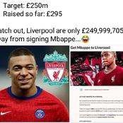 After Losing 5 consecutive home matches, Liverpool fan creates fundraiser to sign Mbappe