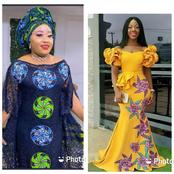 Ladies, Here are Sophisticated Lace And Ankara Combination Styles