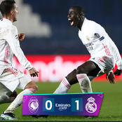 UEFA Names F.Mendy Man Of The Match Against Atalanta As Real Madrid Set New Record The UEFA.