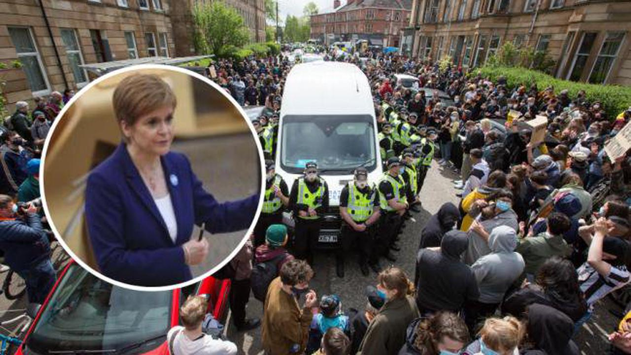 Nicola Sturgeon: 'Today's events entirely down to Home Office actions'