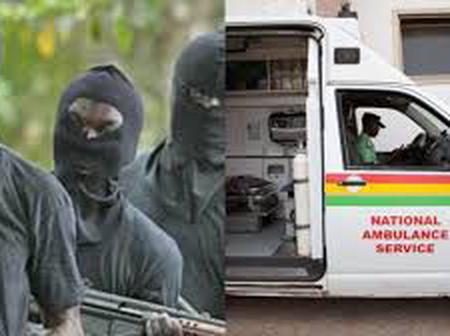 E/R: Armed robbers attack ambulance conveying pregnant woman to Akuse Hospital