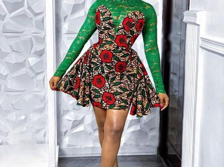 Beautiful Ankara Short Gowns That Will Not Fade Away Anytime Soon