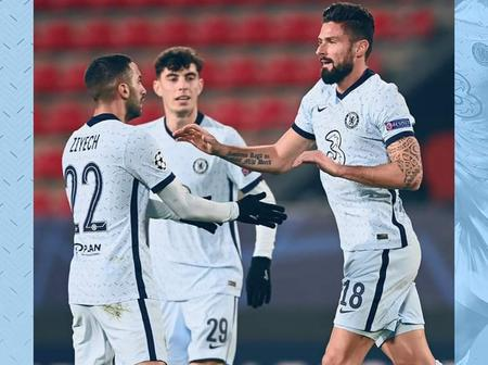 See Reactions as Chelsea Beat Rennes 2-1 to secure a place in UEFA Champions League knockout stages