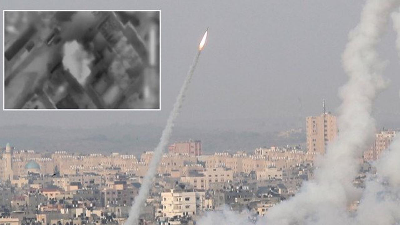 'Nine killed including children in Israel air strikes' after Hamas fires rockets