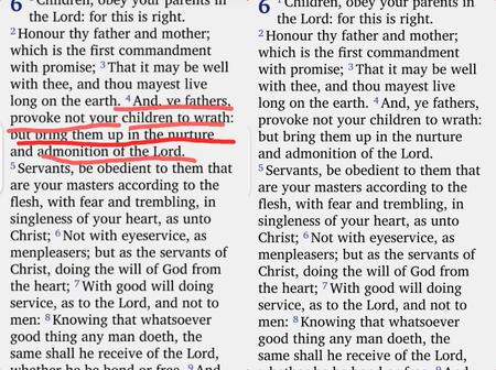 OPINION: See The Bible Verse Many Nigerian Parents Avoid Telling Their Children About (Photo)
