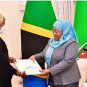 Suluhu Invited to Kenya by President Uhuru Kenyatta