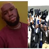Nigerian Man Graduates After Spending 9 Years In The University