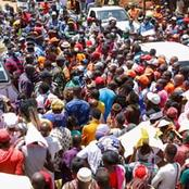 ODM Leader Raila Odinga Given A Heroic Welcome In Mwatate, Holds A Mega Rally (Photos)