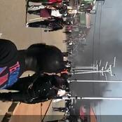 Tension In Jos, Plateau State As Shops, Cars Are Set On Fire And Shots Are Fired During Jos Protest