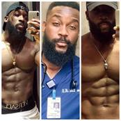 This Man Is A Medical Doctor And Also A Body Builder, See Lovely Photos Of Dr Lanre Udu