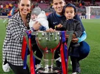 Coutinho And His Lovely Family (Photos)