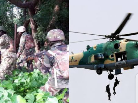 Tension As Military Bomb Akwa Ibom Forest To Flush Out Criminals Attacking Police In The State