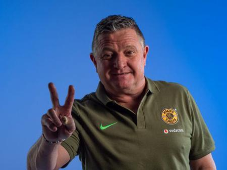 BREAKING: Gavin Hunt Announces Kaizer Chiefs First Signing
