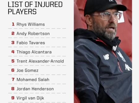 List of Injured Liverpool players and other news for Manchester United and Chelsea fans.