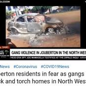 Joubertina in the North West is under siege by gangsterism.