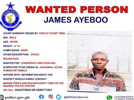 Second Tema Man Believed To Be Hiding In Tamale Declared Wanted For Stealing