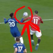 Disgraceful refereeing decision denies Man Utd victory vs Chelsea