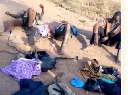 Kidnappers Caught Along Okene-lokoja Road In Kogi State (pictures).
