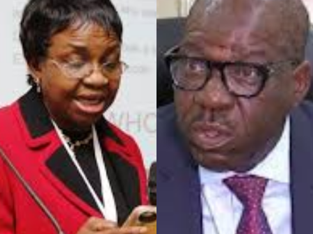 After The Director General of NAFDAC Visited Edo State, Here Is What Governor Obaseki Said