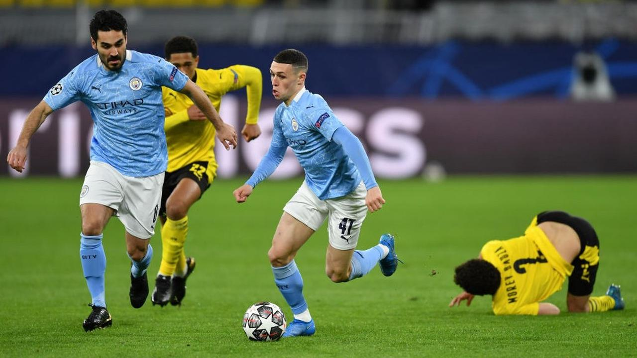 Foden starts as City make six changes