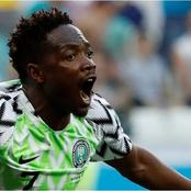 Ahmed Musa Comes Back Home To Sign As A Player In Nigeria Football Club