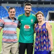 Liverpool's Goalkeeper Alisson Becker Thanks Fans For Their Messages and Tributes To His Late Father