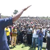 DP William Ruto Address Crowd In Narok At His Empowerment Meeting (Photos)