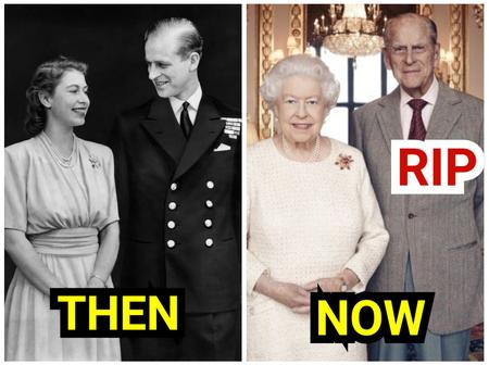 Photos of Queen Elizabeth II and Her Husband That Died Today