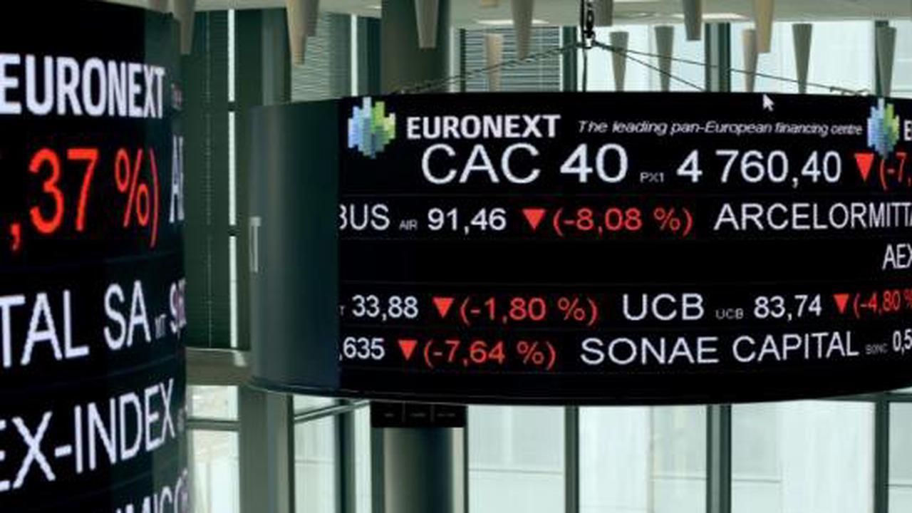 La Bourse de Paris finit en légère hausse de 0,15%