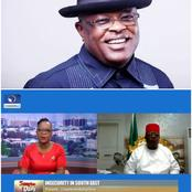Video: Check what Ebonyi Gov said after he was asked if EbubeAgu was created to combat ESN in S'East