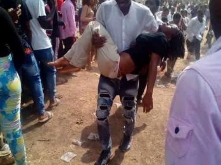 A Student Dies, Lady Faints During Exams In Ebonyi State (Photos)