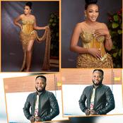 Check out these stunning pictures of actor Ibrahim Yekini, wife as she marked a year older today.