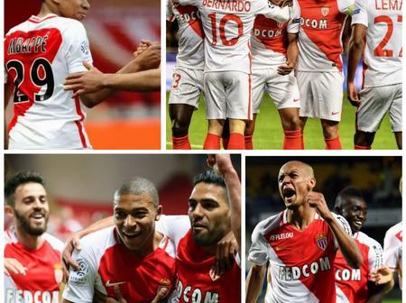Throwback Photos Of Mbappe, Bernardo Silva, Fabinho And Falcao At Monaco