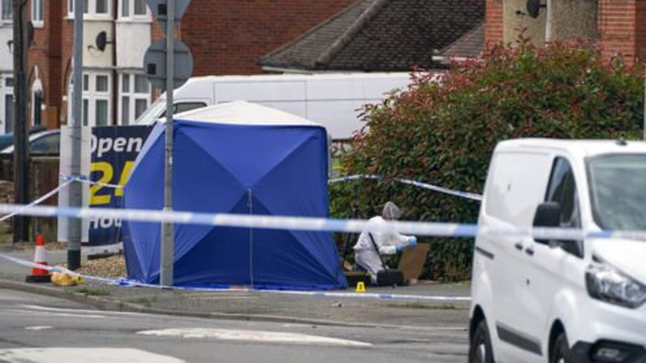 Murder probe after man found 'surrounded by group of males' dies