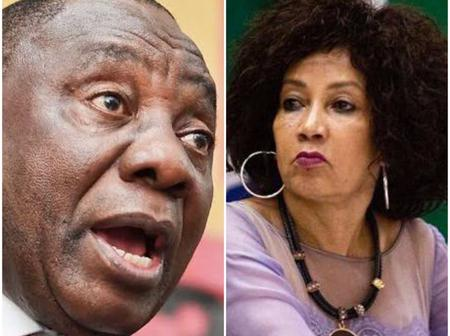 People Suspect Ramaphosa's Cabinet Reshuffle Is An Attempt To Cripple Lindiwe Sisulu's Campaign