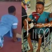 After This Crippled Man Danced During His Child's Dedication, He Got A Help From The Pastor