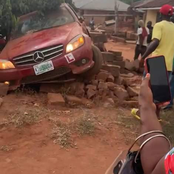 Car with learner sign crushes six children to death in Edo