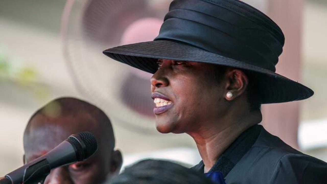 Wife of slain Haiti leader says killers left her for dead