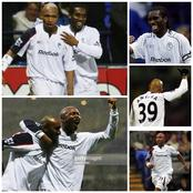 Throwback Photos Of El Hadji Diouf, Okocha And Anelka At Bolton Wanderers