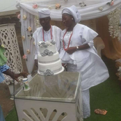 Check out Beautiful Photos of A Couple Who Got Married Today