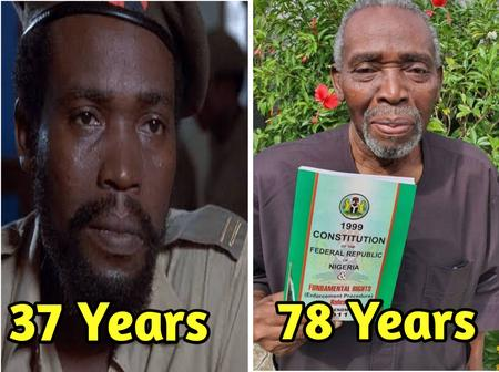 Meet Olu Jacobs The Prominent Nollywood Actor? See How He Look Now, At The Age Of 78 Years