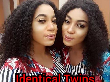 4 Beautiful Nollywood Actresses Who Are Identical Twins In Real Life.