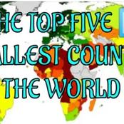 Top five smallest countries in the world