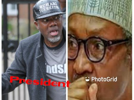 OPINION: Reno Omokri Would Takeover Power From Buhari And Become The President Of Nigeria By 2023.