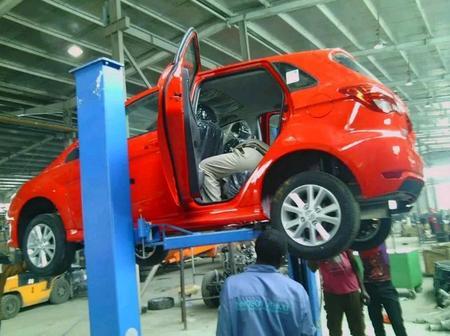 Interior Photos Of The Innoson Manufacturing Plant In Nigeria.
